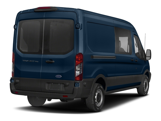 Blue Jeans Metallic 2018 Ford Transit Van Pictures Transit Van T-250 148 Med Rf 9000 GVWR Dual Dr photos rear view
