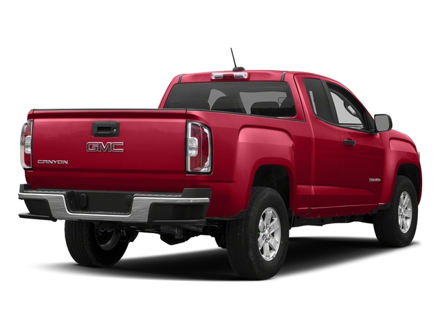 Cardinal Red 2018 GMC Canyon Pictures Canyon 2WD Ext Cab 128.3 photos rear view