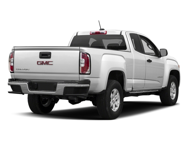 Summit White 2018 GMC Canyon Pictures Canyon 2WD Ext Cab 128.3 photos rear view