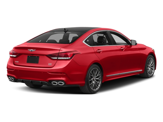 Havana Red 2018 Genesis G80 Pictures G80 3.3T Sport AWD photos rear view