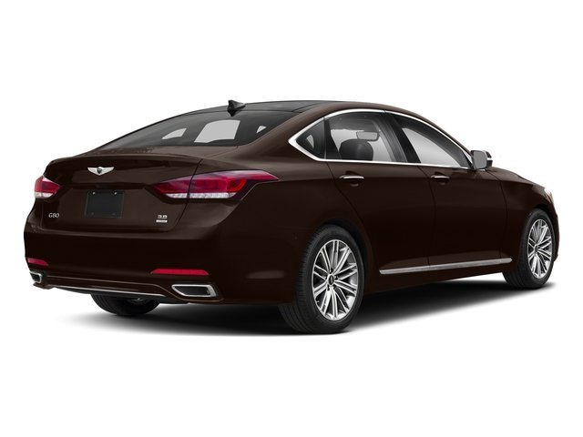 Serengeti Brown 2018 Genesis G80 Pictures G80 3.8L AWD photos rear view