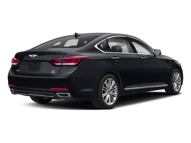 Patagonia Blue 2018 Genesis G80 Pictures G80 3.8L AWD photos rear view