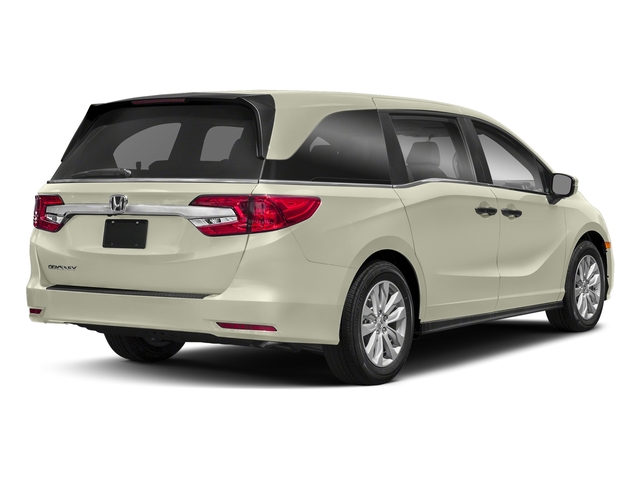 White Diamond Pearl 2018 Honda Odyssey Pictures Odyssey LX Auto photos rear view