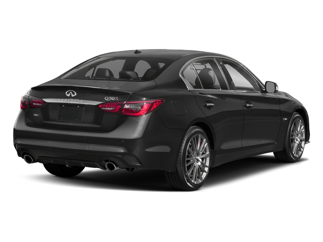 Graphite Shadow 2018 INFINITI Q50 Pictures Q50 3.0t SPORT AWD photos rear view