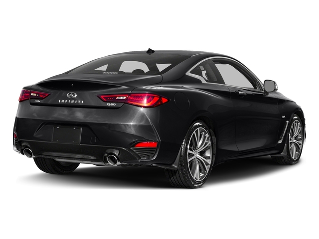 Midnight Black 2018 INFINITI Q60 Pictures Q60 3.0t LUXE AWD photos rear view