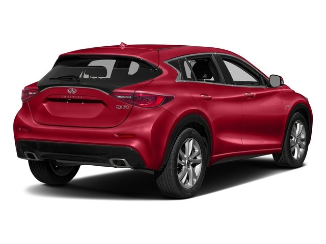 Magnetic Red 2018 INFINITI QX30 Pictures QX30 Utility 4D Sport 2WD photos rear view