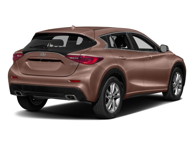 Liquid Copper 2018 INFINITI QX30 Pictures QX30 Premium FWD photos rear view