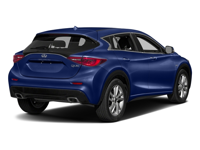 Ink Blue 2018 INFINITI QX30 Pictures QX30 Utility 4D Sport 2WD photos rear view