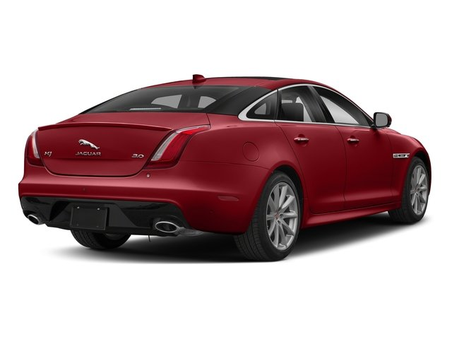 Firenze Red Metallic 2018 Jaguar XJ Pictures XJ XJ Supercharged RWD photos rear view