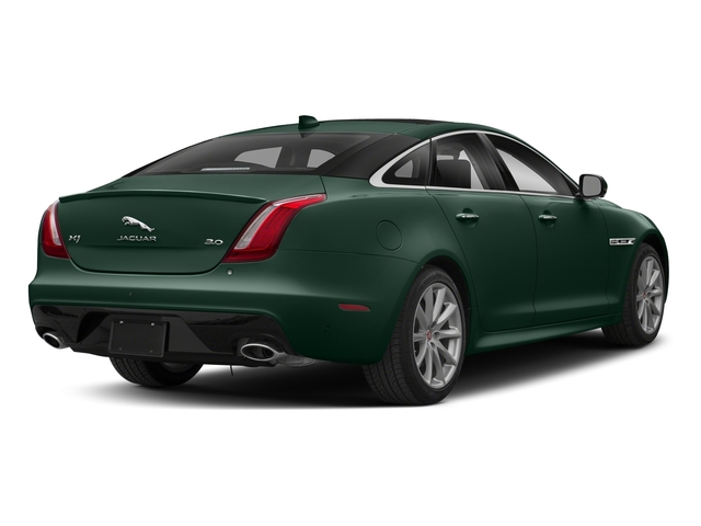 British Racing Green Metallic 2018 Jaguar XJ Pictures XJ XJ Supercharged RWD photos rear view
