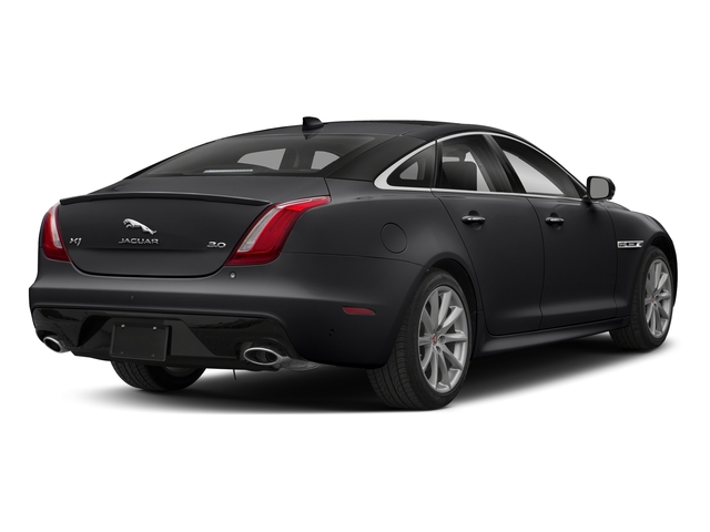 Narvik Black 2018 Jaguar XJ Pictures XJ XJ Supercharged RWD photos rear view