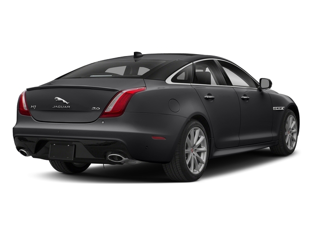 Carpathian Grey Premium Metallic 2018 Jaguar XJ Pictures XJ XJ Supercharged RWD photos rear view