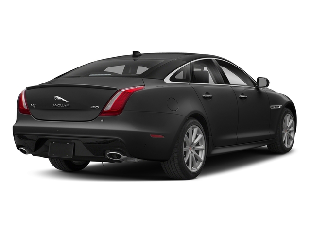 Farallon Black Premium Metallic 2018 Jaguar XJ Pictures XJ XJ Supercharged RWD photos rear view