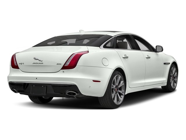 Fuji White 2018 Jaguar XJ Pictures XJ XJL Portfolio RWD photos rear view