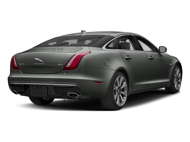 Corris Grey Metallic 2018 Jaguar XJ Pictures XJ XJL Portfolio RWD photos rear view