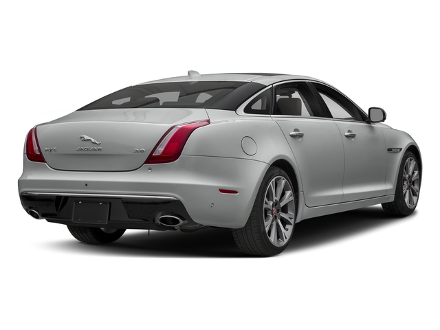 Indus Silver Metallic 2018 Jaguar XJ Pictures XJ XJL Portfolio RWD photos rear view