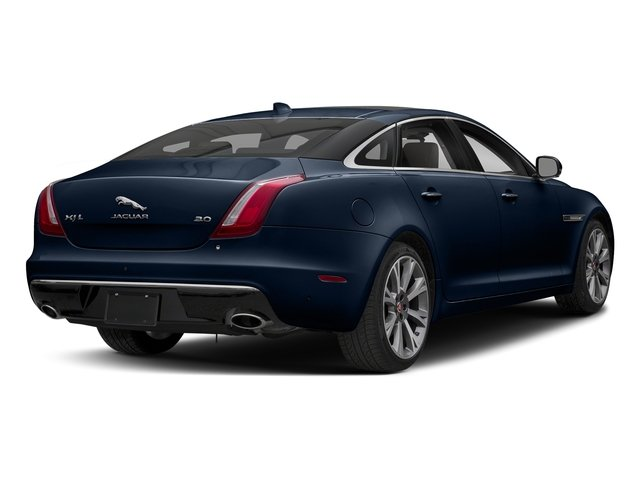 Loire Blue Metallic 2018 Jaguar XJ Pictures XJ XJL Portfolio RWD photos rear view