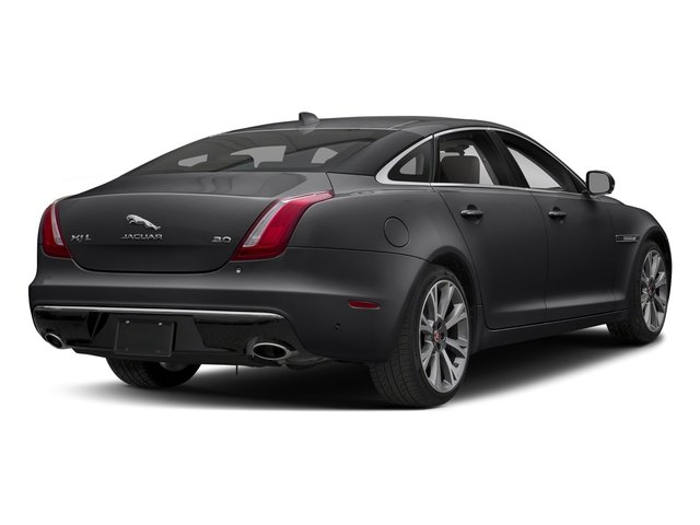 Carpathian Grey Premium Metallic 2018 Jaguar XJ Pictures XJ XJL Portfolio RWD photos rear view