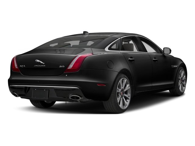 Farallon Black Premium Metallic 2018 Jaguar XJ Pictures XJ XJL Portfolio RWD photos rear view