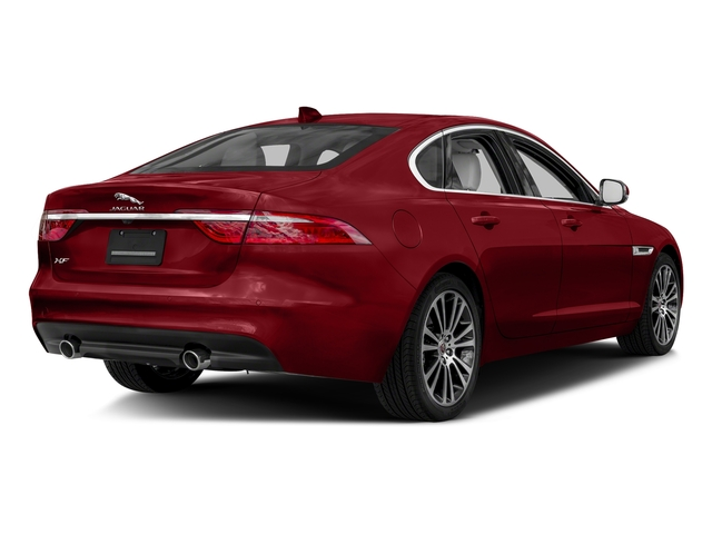 Firenze Red Metallic 2018 Jaguar XF Pictures XF Sedan 35t Prestige AWD *Ltd Avail* photos rear view