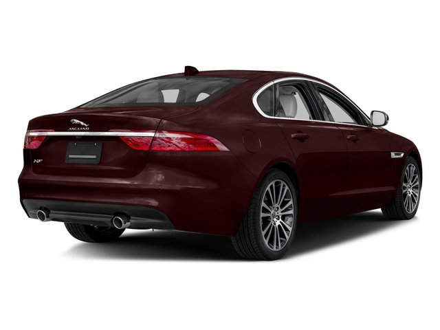 Rossello Red Metallic 2018 Jaguar XF Pictures XF Sedan 35t Prestige AWD *Ltd Avail* photos rear view