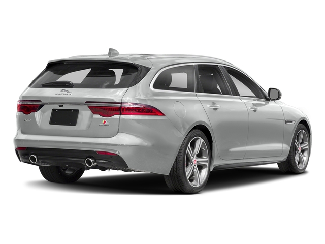 Indus Silver Metallic 2018 Jaguar XF Pictures XF Sportbrake First Edition AWD photos rear view