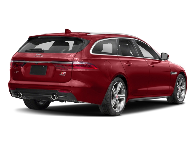 Firenze Red Metallic 2018 Jaguar XF Pictures XF Sportbrake First Edition AWD photos rear view