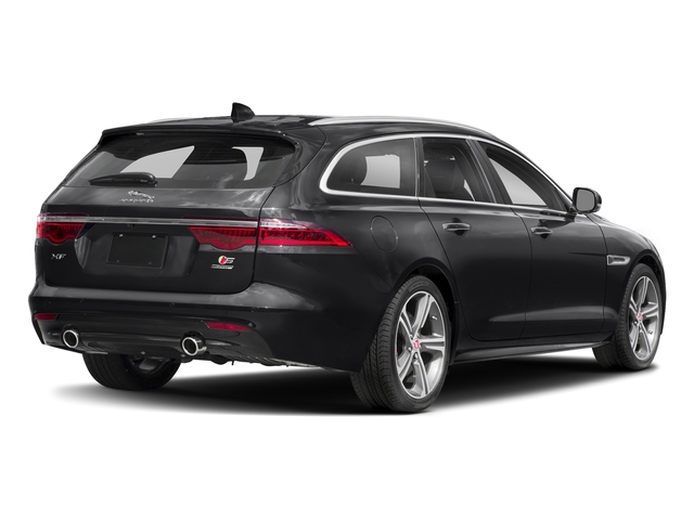 Narvik Black 2018 Jaguar XF Pictures XF Sportbrake First Edition AWD photos rear view