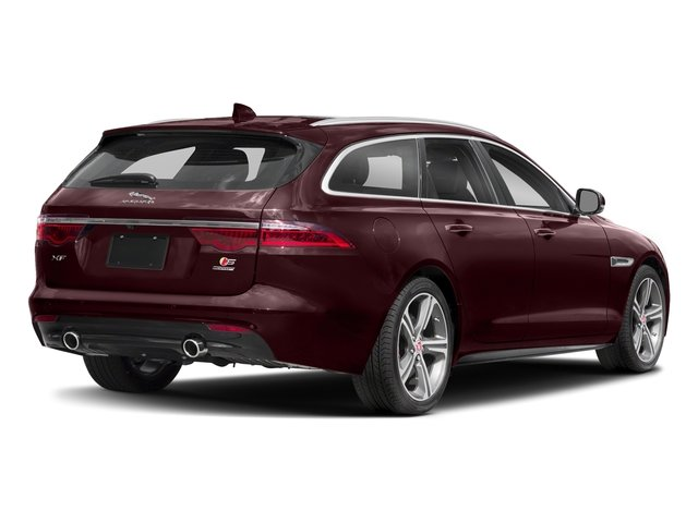 Rossello Red Metallic 2018 Jaguar XF Pictures XF Sportbrake First Edition AWD photos rear view