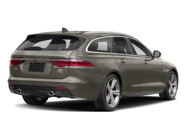Silicon Silver 2018 Jaguar XF Pictures XF Sportbrake First Edition AWD photos rear view