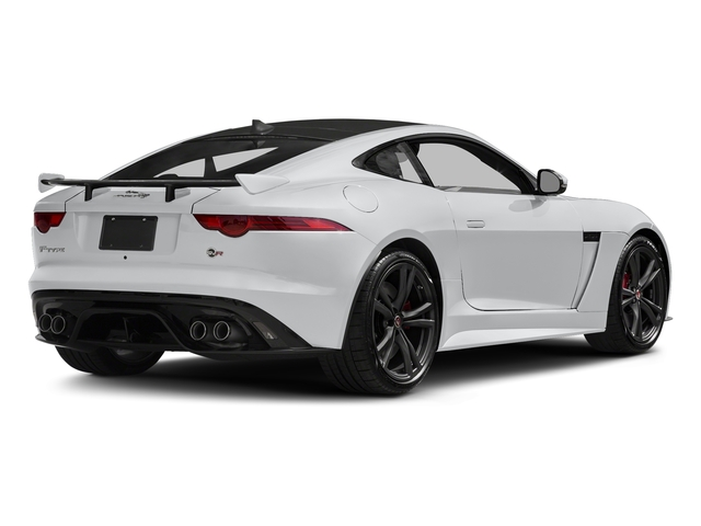Yulong White Metallic 2018 Jaguar F-TYPE Pictures F-TYPE Coupe Auto SVR AWD photos rear view