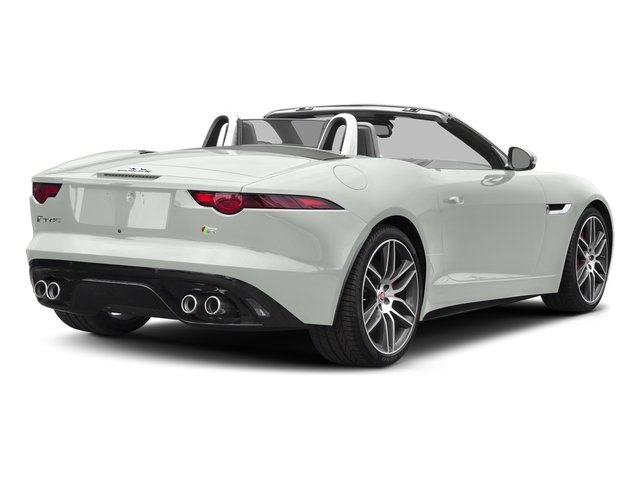 Fuji White 2018 Jaguar F-TYPE Pictures F-TYPE Convertible Auto 380HP AWD photos rear view