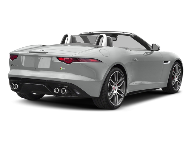 Indus Silver Metallic 2018 Jaguar F-TYPE Pictures F-TYPE Convertible Auto 380HP AWD photos rear view