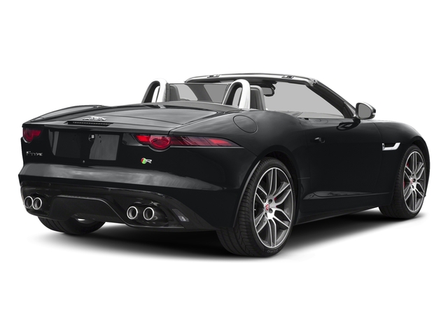 Santorini Black Metallic 2018 Jaguar F-TYPE Pictures F-TYPE Convertible Auto 380HP AWD photos rear view