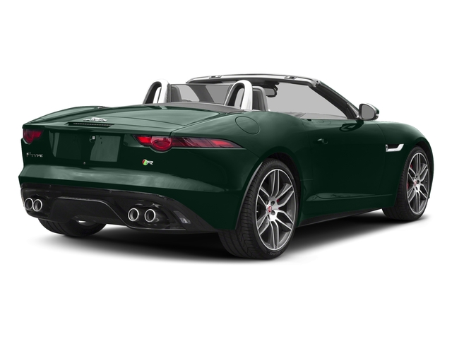British Racing Green Metallic 2018 Jaguar F-TYPE Pictures F-TYPE Convertible Auto 380HP AWD photos rear view