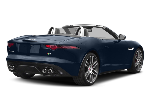 Loire Blue Metallic 2018 Jaguar F-TYPE Pictures F-TYPE Convertible Auto 380HP AWD photos rear view