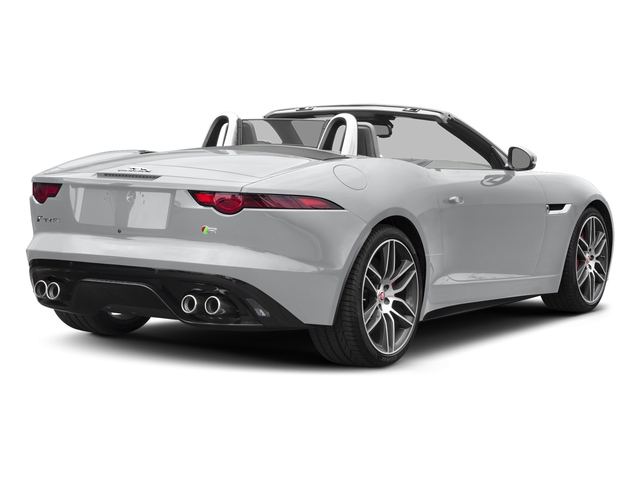 Yulong White Metallic 2018 Jaguar F-TYPE Pictures F-TYPE Convertible Auto 380HP AWD photos rear view