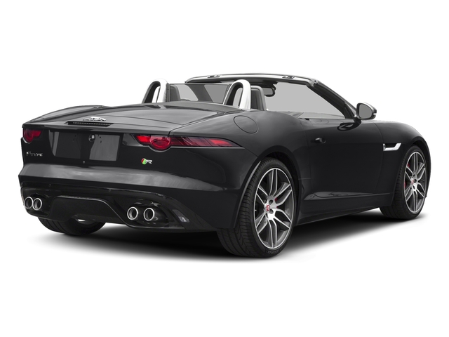 Narvik Black 2018 Jaguar F-TYPE Pictures F-TYPE Convertible Auto 380HP AWD photos rear view