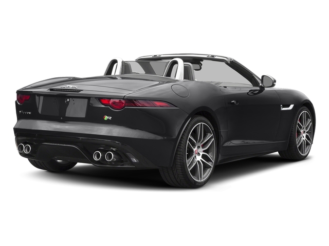 Carpathian Grey 2018 Jaguar F-TYPE Pictures F-TYPE Convertible Auto 380HP AWD photos rear view