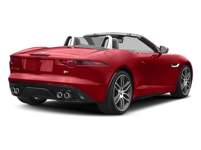 Caldera Red 2018 Jaguar F-TYPE Pictures F-TYPE Convertible Auto 380HP AWD photos rear view