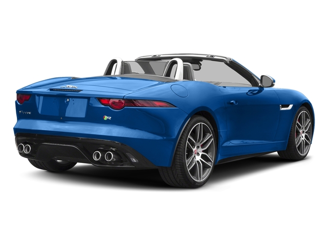 Ultra Blue Metallic 2018 Jaguar F-TYPE Pictures F-TYPE Convertible Auto 380HP AWD photos rear view