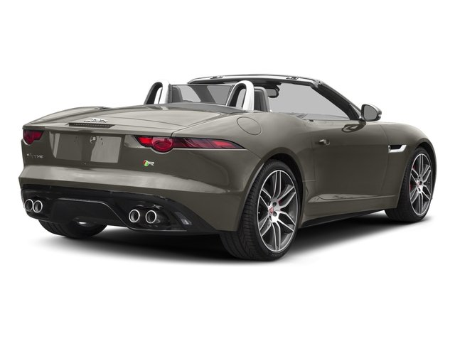 Silicon Silver 2018 Jaguar F-TYPE Pictures F-TYPE Convertible Auto 380HP AWD photos rear view