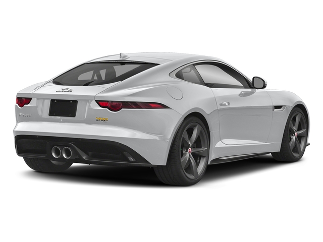 Yulong White Metallic 2018 Jaguar F-TYPE Pictures F-TYPE Coupe Auto 400 Sport photos rear view