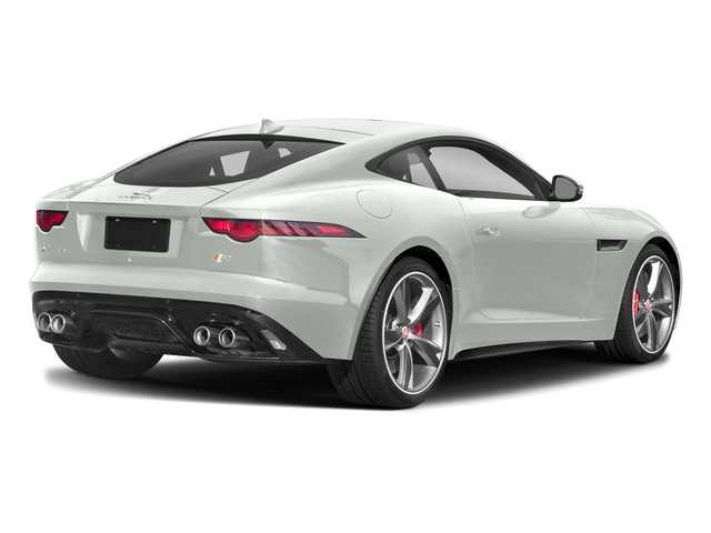 Fuji White 2018 Jaguar F-TYPE Pictures F-TYPE Coupe Auto 340HP photos rear view