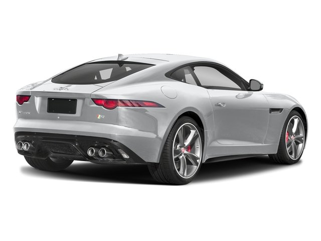 Yulong White Metallic 2018 Jaguar F-TYPE Pictures F-TYPE Coupe Auto 340HP photos rear view