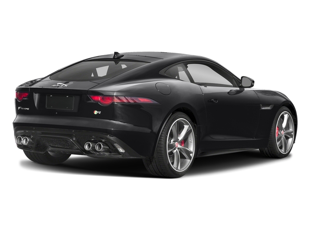 Narvik Black 2018 Jaguar F-TYPE Pictures F-TYPE Coupe Auto R-Dynamic AWD photos rear view