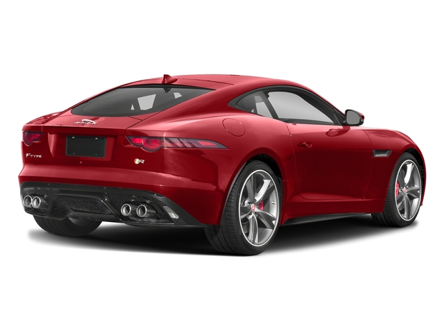Caldera Red 2018 Jaguar F-TYPE Pictures F-TYPE Coupe Auto R-Dynamic AWD photos rear view