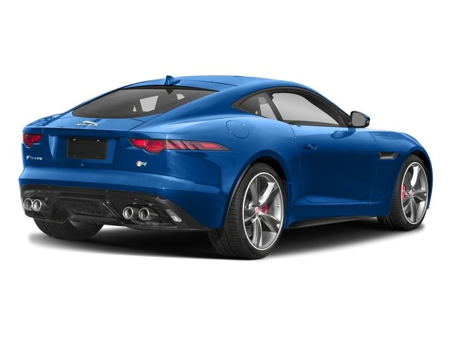 Ultra Blue Metallic 2018 Jaguar F-TYPE Pictures F-TYPE Coupe Auto R-Dynamic AWD photos rear view