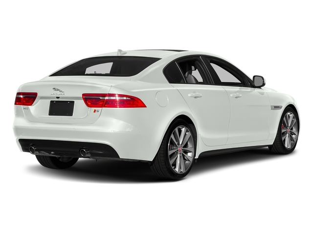 Fuji White 2018 Jaguar XE Pictures XE S AWD photos rear view
