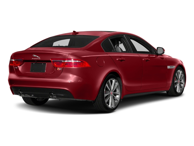 Firenze Red 2018 Jaguar XE Pictures XE S AWD photos rear view